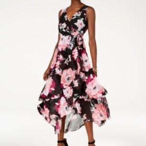 INC Black Floral Dress, 14